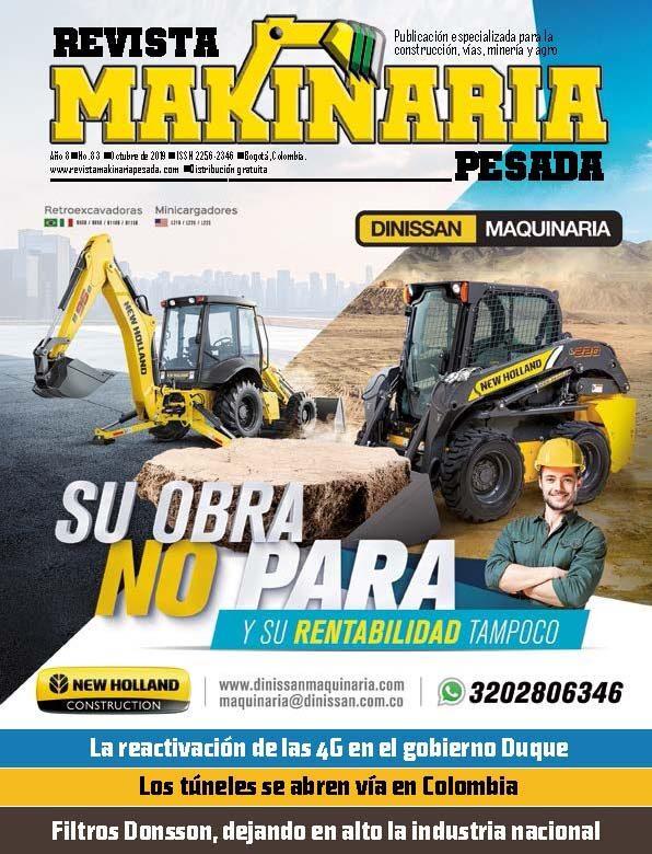 Makinaria Pesada Octubre 2019