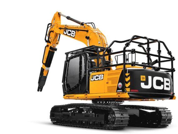 JCB introduce excavadora forestal para el mercado latinoamericano