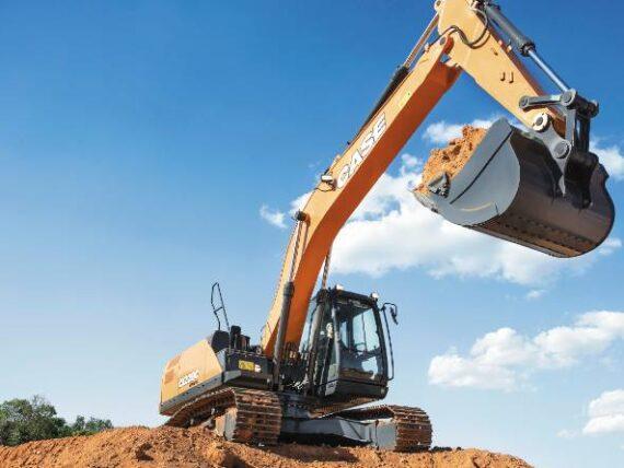 Excavadoras Case: las gigantes de la construcción